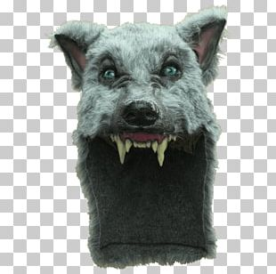 Gray Wolf Big Bad Wolf Fur Halloween Costume PNG