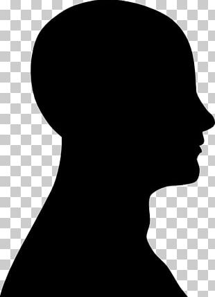 Human Head Silhouette Face PNG