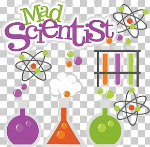Mad Scientist Science Women PNG