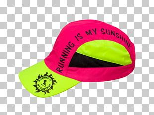 Cap Running Yellow Jogging Sport PNG