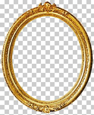 Frames Gold Mirror PNG