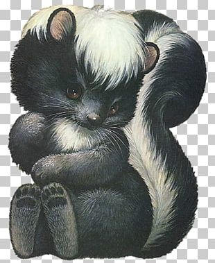 Mammal Skunk Animal Tattoo Ink PNG