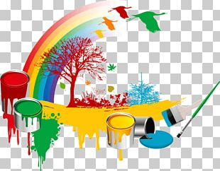 Paintbrush Paintbrush Bucket PNG