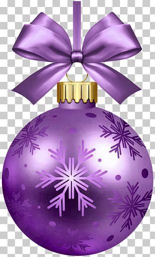 Christmas Ornament Bombka Christmas Decoration Santa Claus PNG