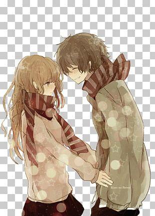 Anime Boy Girl Manga PNG