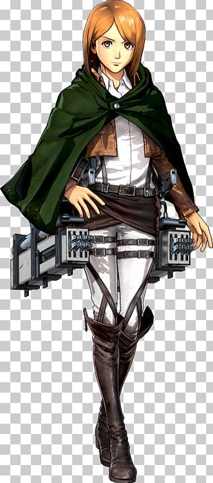 A.O.T.: Wings Of Freedom Attack On Titan 2 Character Game PNG