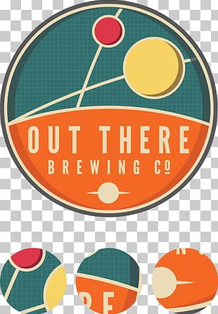 Out There Brewing Company Newcastle Brown Ale Beer PNG
