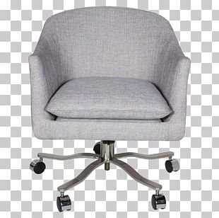 Swivel Chair Office & Desk Chairs Furniture Eames Lounge Chair PNG