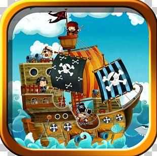 Mural Piracy Child Treasure Map PNG