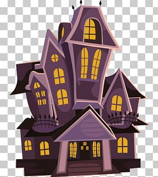 Haunted Attraction Halloween House Free Content PNG