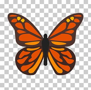 Monarch Butterfly Insect Computer Icons Milkweed Butterflies PNG