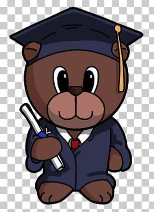 Paper Bear Craft Graduation Ceremony PNG