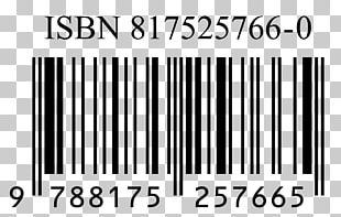 International Standard Book Number Barcode Publishing Numerical Digit Library PNG