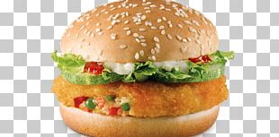 Veggie Burger Hamburger Aloo Tikki Vegetarian Cuisine McDonald's Big Mac PNG