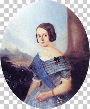 Teresa Cristina Of The Two Sicilies Empire Of Brazil Emperor Order Of The Southern Cross PNG