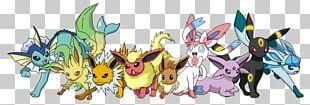 Eevee Jolteon Pokémon Umbreon Espeon PNG