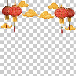 Chinese New Year Paper Lantern Christmas PNG