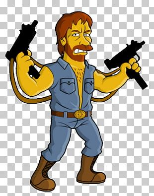 Chuck Norris Facts Caricature Roundhouse Kick Joke Karate PNG
