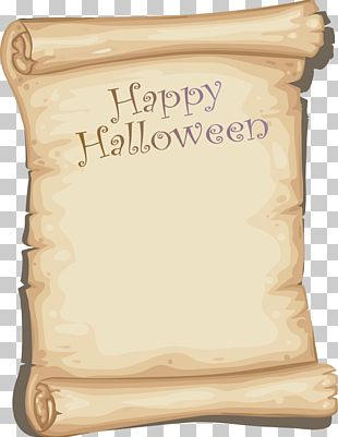 Paper Halloween PNG