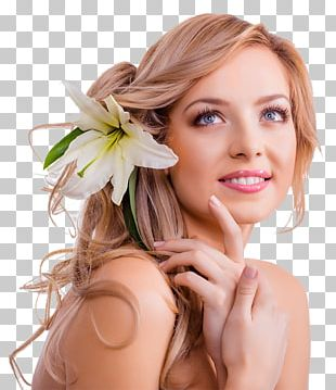 Woman Beauty Parlour Facial Massage Hairstyle PNG