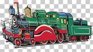 Train Cartoon PNG