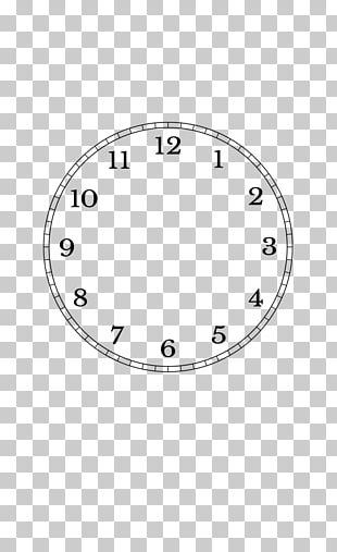 Clock Face Minute Second Real-time Clock PNG