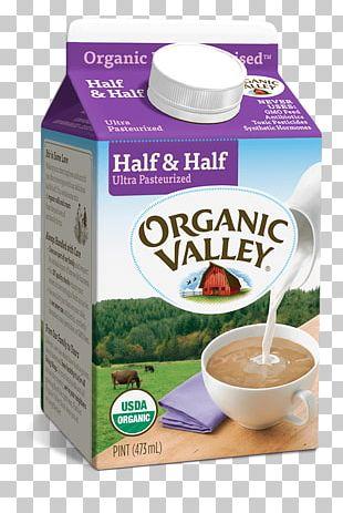 Cream Organic Food Milk Hood Half And Half Organic Valley PNG