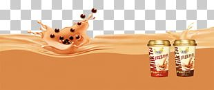 Bubble Tea Taiwanese Cuisine Advertising Poster PNG