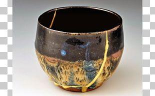 Kintsugi Pottery Ceramic Japanese Art PNG
