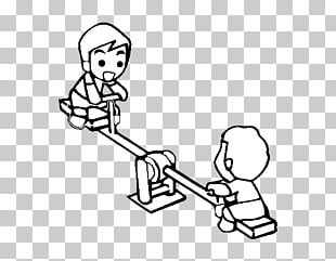 Colouring Pages Coloring Book Seesaw Playground Game PNG