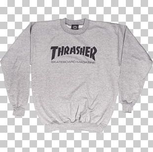 Thrasher Presents Skate And Destroy Hoodie T-shirt Skateboard PNG