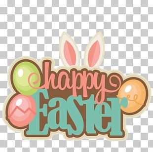 Happy Easter Colourful PNG
