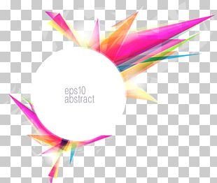 Abstract Art Color Gradient PNG