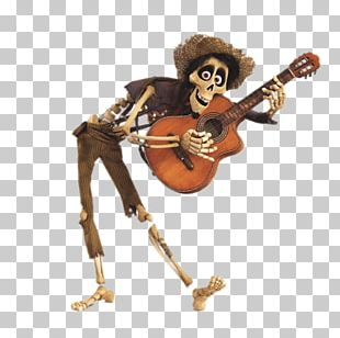 Hector Playing The Guitar PNG