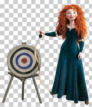 Merida Elsa Rapunzel Tiana Dress PNG