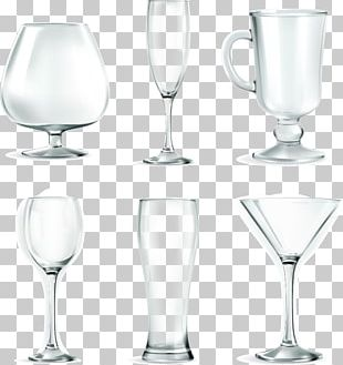 Wine Glass Martini Champagne Glass Beer Glasses PNG