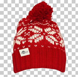 Knit Cap Beanie Christmas Gift PNG