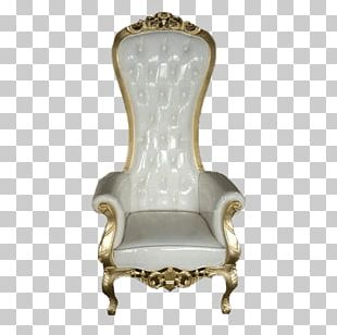 Chair Luxe Event Rental Bedside Tables Throne PNG