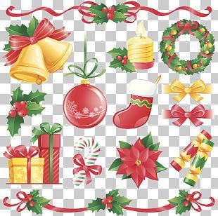 Christmas Cracker Flat Design Illustration PNG