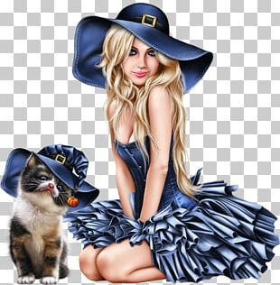Halloween Costume Witch Woman PNG