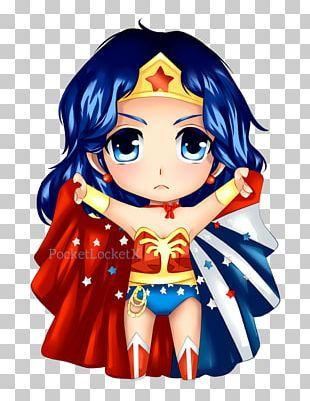 Diana Prince Chibi Drawing YouTube Superman PNG