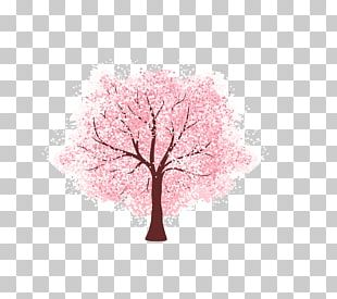 Cherry Blossom Tree Euclidean PNG