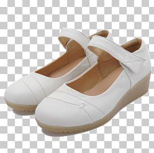 White Shoe Designer PNG