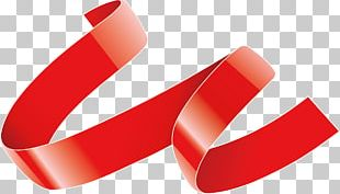 Red Ribbon Mercery PNG