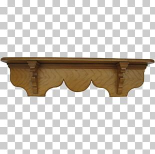 Table Shelf Furniture Wood Bookcase PNG