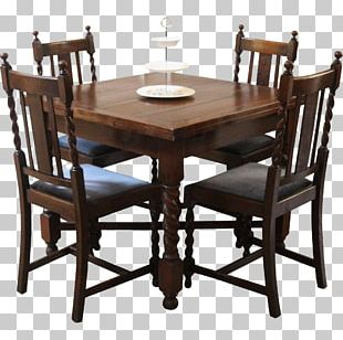 Drop-leaf Table Dining Room Chair Matbord PNG