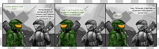 Master Chief Half-Life 2 Comics Line Art Cartoon PNG