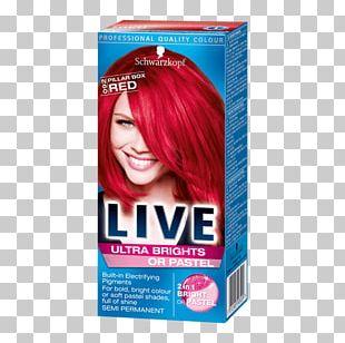 Hair Coloring Schwarzkopf Human Hair Color Pillar Box PNG