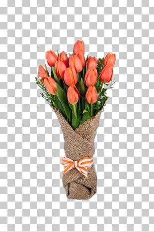 Flower Bouquet Tulip Wedding Floristry PNG