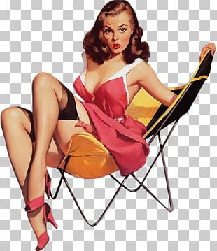 Pin-up Girl Art Poster Painting Vintage Clothing PNG